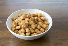 Niigerian Chin Chin Snack Served på partier royaltyfria foton