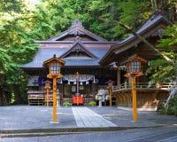 Niikura Fuji Sengen Shrine Royalty Free Stock Images