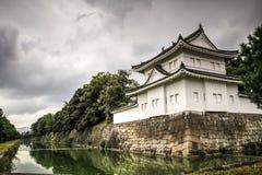 Nijo castle ramparts and moats, kyoto, kansai, Japan stock image