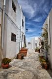 Nijar,阿尔梅里雅省,安大路西亚,西班牙村庄  免版税库存照片