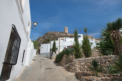 Nijar, Almeria, Spain. Urban view of the village of Nijar, touristic place located in Cape of Cat Nartural Park, Almeria province,south of Spain Stock Image