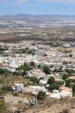 Nijar, een typisch $c-andalusisch dorp royalty-vrije stock fotografie