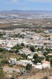 Nijar, a typical Andalusian village Royalty Free Stock Photography