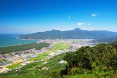 Nijinomatsubara en Karatsu-Stad in Saga, Japan royalty-vrije stock afbeeldingen