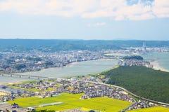 Nijinomatsubara en Karatsu-Stad in Saga, Japan royalty-vrije stock afbeelding