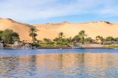 nijl Egypte stock foto
