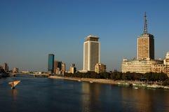 Nijl in Kaïro Royalty-vrije Stock Foto's