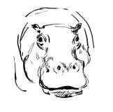 Nijlpaard Royalty-vrije Stock Foto