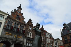 Nijmegen em Países Baixos Fotografia de Stock Royalty Free