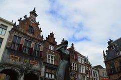 Nijmegen i Nederländerna Royaltyfri Fotografi