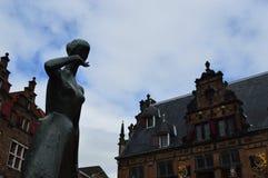 Nijmegen in Nederland Stock Foto's