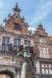 NIJMEGEN, NETHERLANDS - AUGUST 27, 2016: CHistric center of Nijmegen stock images
