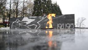 Nijni-Novgorod, Russie -02 11 2015 L'éternel banque de vidéos