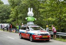 Nijntje Vehicle - Tour de France 2014 Stock Photography