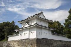 Nijo城堡在京都,日本 库存照片