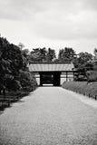 Nijo城堡在京都(日本) 库存图片