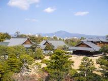Nijo城堡复合体 免版税库存图片
