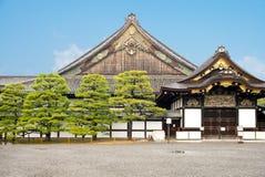 Nijo城堡的Ninomaru宫殿在京都,日本 图库摄影