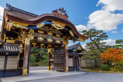 Nijo城堡的Ninomaru宫殿在京都 免版税库存图片