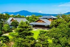 Nijo城堡 免版税图库摄影