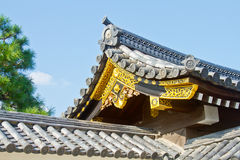 Nijo城堡 免版税库存照片
