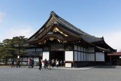 Nijo城堡Ninomaru宫殿在京都,日本 库存照片