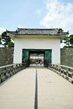 Nijo Castle in Kyoto (Japan) stock photography