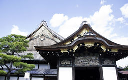 Nijo Castle, Kyoto, Japan Royalty Free Stock Photo