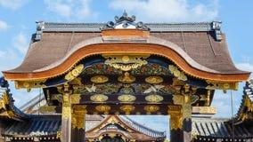 Nijo Castle in Kyoto Royalty Free Stock Photo