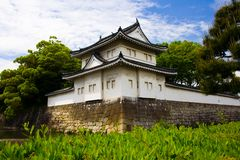 Nijo Castle, Kyoto, Japan. World Heritage Site: Nijo Castle (Nijo-jo), Kyoto, Japan.  Built in 1603 and completed in 1626.  Residence of the first Tokugawa Royalty Free Stock Photo
