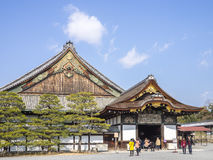 The Nijo Castle stock images