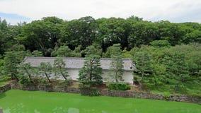 Nijo castle moat in Kyoto Stock Images