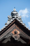 Nijo Castle roof details Stock Photography
