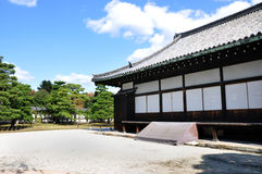 Nijo Castle was built in 1603 as the Kyoto, Japan Stock Photo