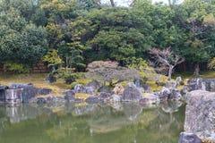 Nijo Castle in Winter Season. Kyoto Japan Royalty Free Stock Images