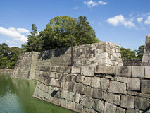 Nijo-jo castle defense water moat Stock Photos