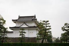 Nijo Schloss in Kyoto, Japan Stockbild