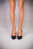 Nikła nogi dziewczyna Fotografia Royalty Free