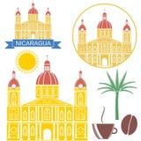 Nikaragua ilustracja wektor