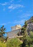 nike Αθηνάς ναός στοκ φωτογραφία