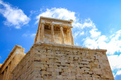 nike Αθηνάς ναός Στοκ Εικόνες