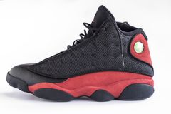 NIke Air Jordan rare 13 rétro Photo libre de droits