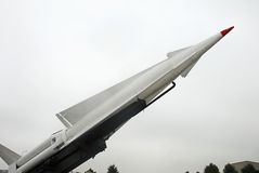 Nike Anti aircraft missile Stock Photo
