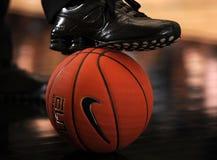 Nike Basketball fotografia stock libera da diritti