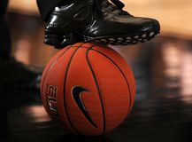 Nike Basketball royalty free stock photo