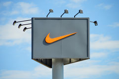 Nike Billboard Royalty Free Stock Image