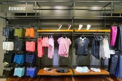 Nike. BUSAN, SOUTH KOREA - CIRCA MAY, 2017: inside Nike store at Lotte Department Store Royalty Free Stock Image