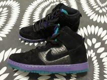 Nike Dunk High fotos de stock
