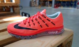 Nike działający sneakers Obrazy Stock