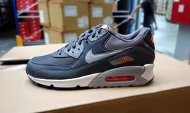 Nike działający sneakers Fotografia Royalty Free